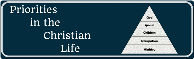 priorities in the christian life overview