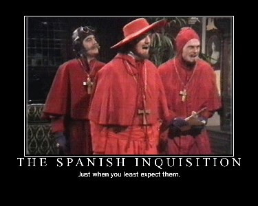 Faithless Fairy Tales Part 4: The Spanish Inquisition